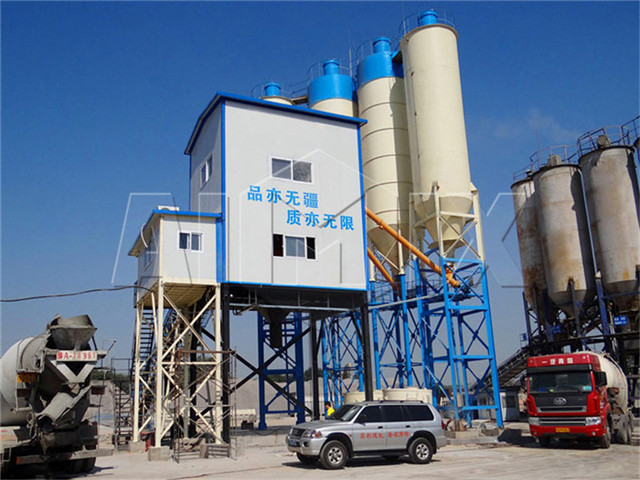 Concrete Batching Plant in China